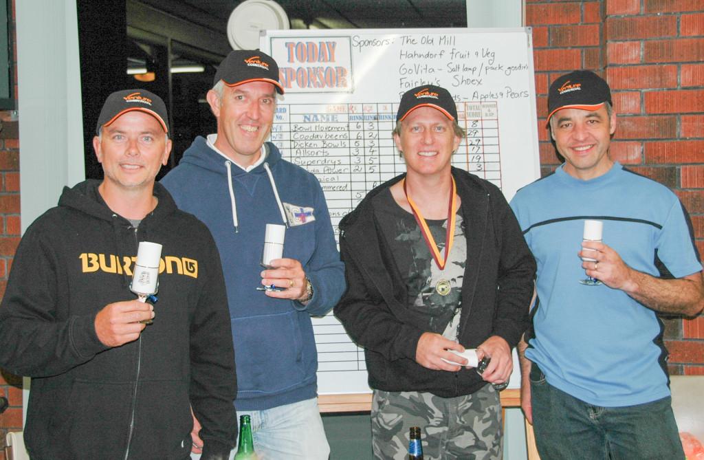 (L-R) Scott Taylor, Paul Heath, Mike Gallagher & Harry Sanders
